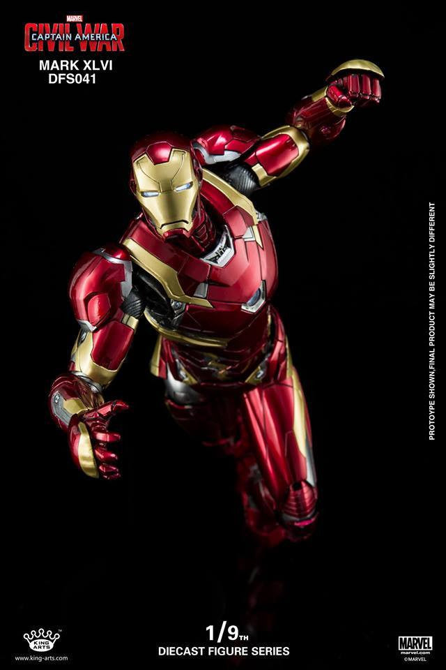 King Arts - DFS041 - Captain America: Civil War - Iron Man Mark XLVI (46) - Marvelous Toys - 14