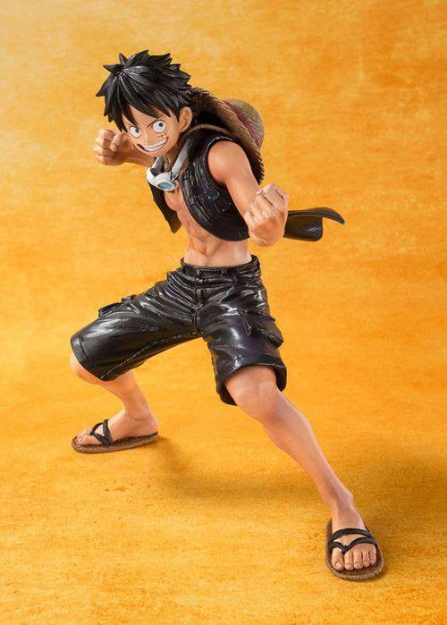 Figuarts ZERO - One Piece - Luffy - One Piece Film Gold Ver. - Marvelous Toys - 1