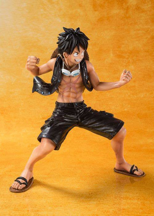 Figuarts ZERO - One Piece - Luffy - One Piece Film Gold Ver. - Marvelous Toys - 3