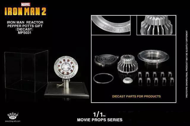 King Arts - MPS031 - Movie Props Series 1:1 - Iron Man Arc Reactor Mark I (1)