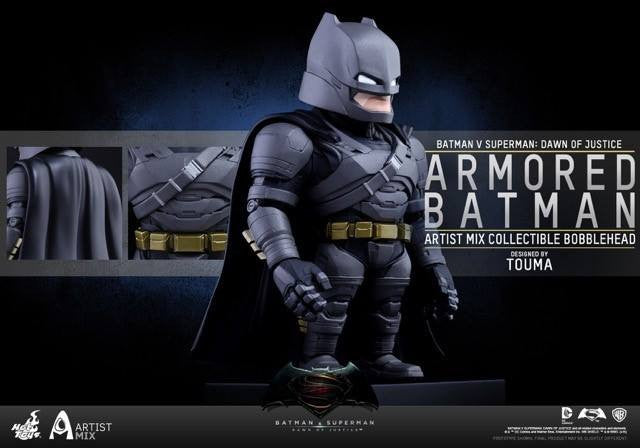 Hot Toys - AMC020 - Batman v Superman: Dawn of Justice - Armored Batman Artist Mix Collectible Bobble-Head Designed by TOUMA - Marvelous Toys - 3
