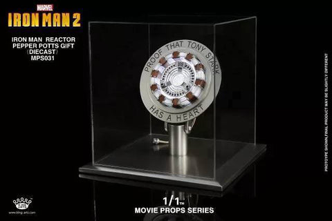 King Arts - MPS031 - Movie Props Series 1:1 - Iron Man Arc Reactor Mark I (1) - Marvelous Toys - 1