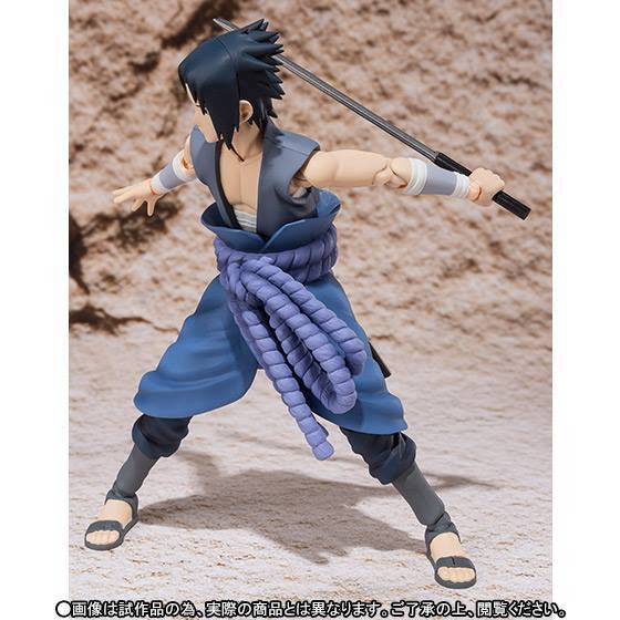 (IN STOCK) S.H.Figuarts - Naruto - Sasuke Uchiha (Weasel War) (Tamashii Web Exclusive) - Marvelous Toys - 3