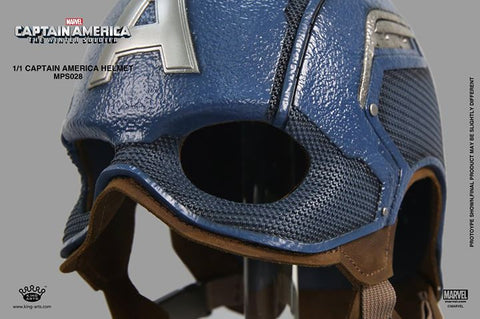 King Arts - MPS028 - Movie Props Series 1:1 - Captain America: The Winter Soldier - Captain America Helmet - Marvelous Toys - 2