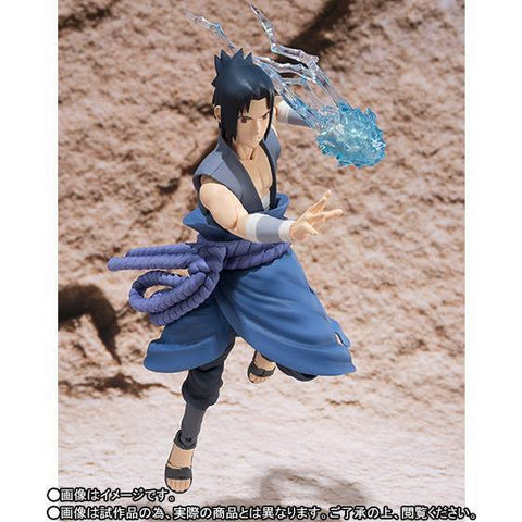 (IN STOCK) S.H.Figuarts - Naruto - Sasuke Uchiha (Weasel War) (Tamashii Web Exclusive) - Marvelous Toys - 1