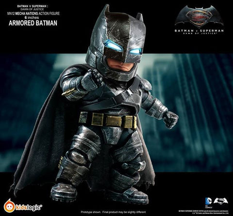 Kids Logic - Mecha Nations MN12 - Batman v Superman: Dawn of Justice - Batman Armored Version - Marvelous Toys - 1