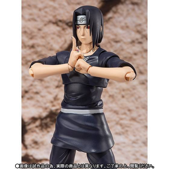 (IN STOCK) S.H.Figuarts - Naruto - Itachi Uchiha (Weasel War) (Tamashii Web Exclusive) - Marvelous Toys - 5