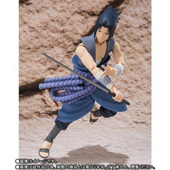 (IN STOCK) S.H.Figuarts - Naruto - Sasuke Uchiha (Weasel War) (Tamashii Web Exclusive) - Marvelous Toys - 4