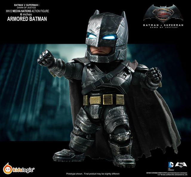Kids Logic - Mecha Nations MN12 - Batman v Superman: Dawn of Justice - Batman Armored Version - Marvelous Toys - 4