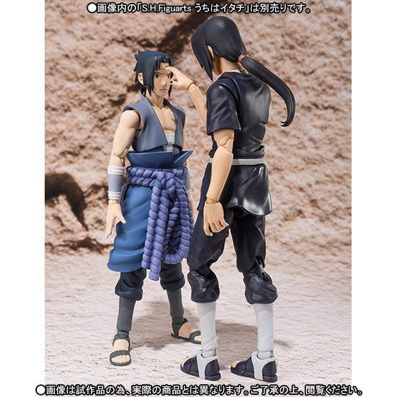 (IN STOCK) S.H.Figuarts - Naruto - Sasuke Uchiha (Weasel War) (Tamashii Web Exclusive) - Marvelous Toys - 6