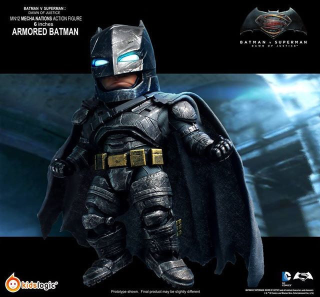 Kids Logic - Mecha Nations MN12 - Batman v Superman: Dawn of Justice - Batman Armored Version - Marvelous Toys - 6