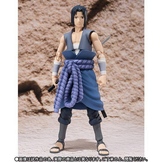 (IN STOCK) S.H.Figuarts - Naruto - Sasuke Uchiha (Weasel War) (Tamashii Web Exclusive) - Marvelous Toys - 5
