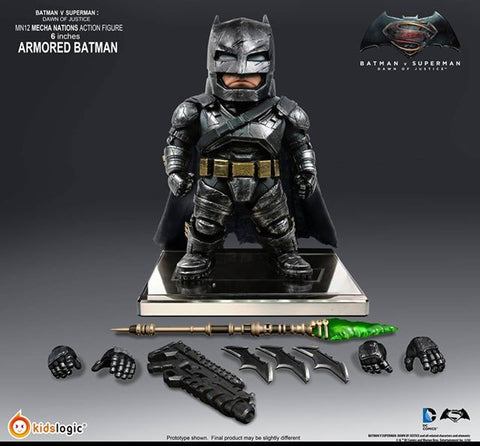 Kids Logic - Mecha Nations MN12 - Batman v Superman: Dawn of Justice - Batman Armored Version - Marvelous Toys - 2