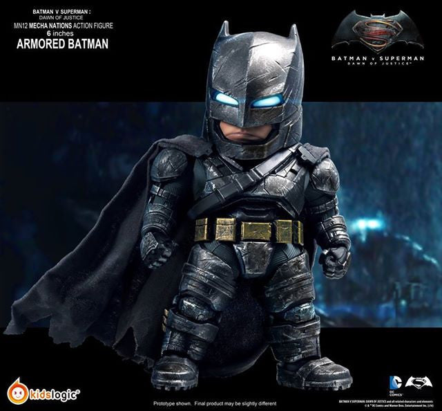 Kids Logic - Mecha Nations MN12 - Batman v Superman: Dawn of Justice - Batman Armored Version - Marvelous Toys - 7