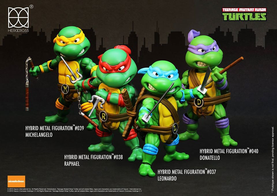 Herocross - Hybrid Metal Figuration - Teenage Mutant Ninja Turtles - Michelangelo - Marvelous Toys - 5