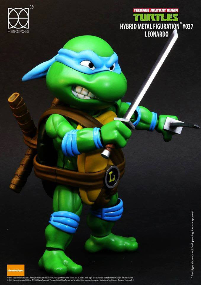 Herocross - Hybrid Metal Figuration - Teenage Mutant Ninja Turtles - Leonardo - Marvelous Toys - 1