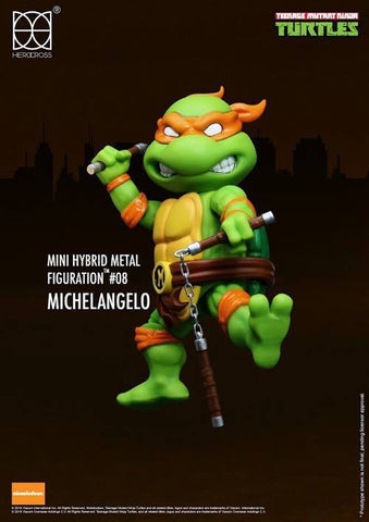 (IN STOCK) Herocross - Mini Hybrid Metal Figuration - Teenage Mutant Ninja Turtles (Set of 4) - Marvelous Toys - 2