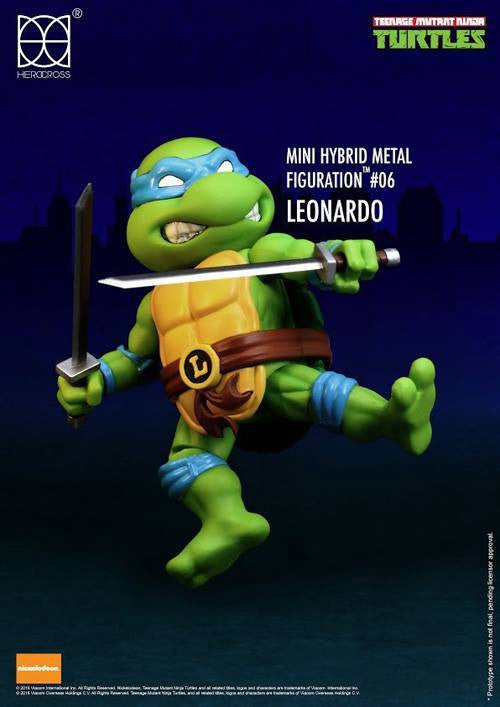 (IN STOCK) Herocross - Mini Hybrid Metal Figuration - Teenage Mutant Ninja Turtles (Set of 4) - Marvelous Toys - 4