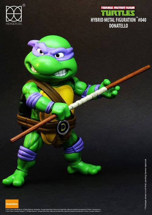 Herocross - Hybrid Metal Figuration - Teenage Mutant Ninja Turtles - Donatello - Marvelous Toys - 1