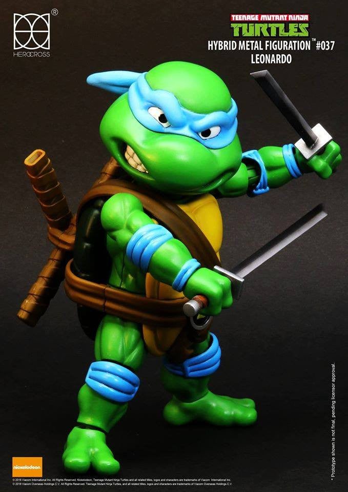 Herocross - Hybrid Metal Figuration - Teenage Mutant Ninja Turtles - Leonardo - Marvelous Toys - 3