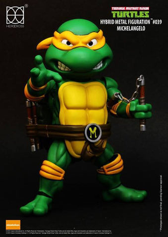 Herocross - Hybrid Metal Figuration - Teenage Mutant Ninja Turtles - Michelangelo - Marvelous Toys - 1