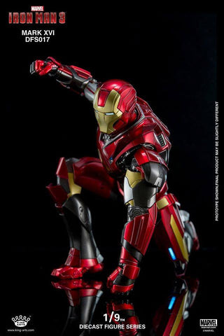 King Arts - DFS017 - Iron Man 3 - 1/9th Scale Iron Man Mark XVI (16) - Marvelous Toys - 2