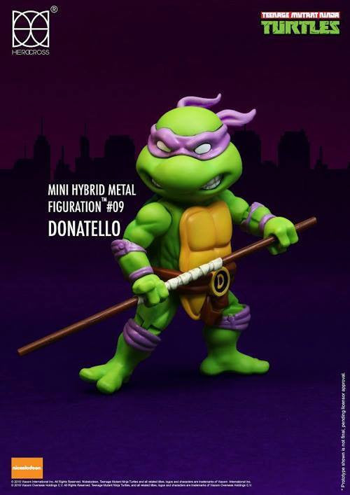 (IN STOCK) Herocross - Mini Hybrid Metal Figuration - Teenage Mutant Ninja Turtles (Set of 4) - Marvelous Toys - 5