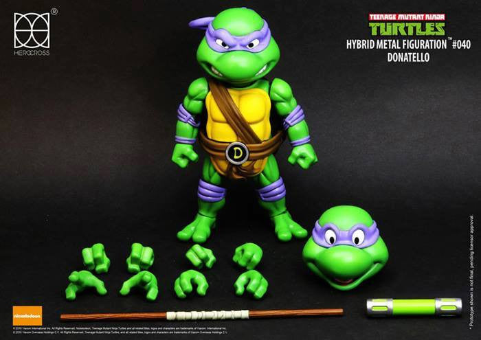 Herocross - Hybrid Metal Figuration - Teenage Mutant Ninja Turtles - Donatello - Marvelous Toys - 5