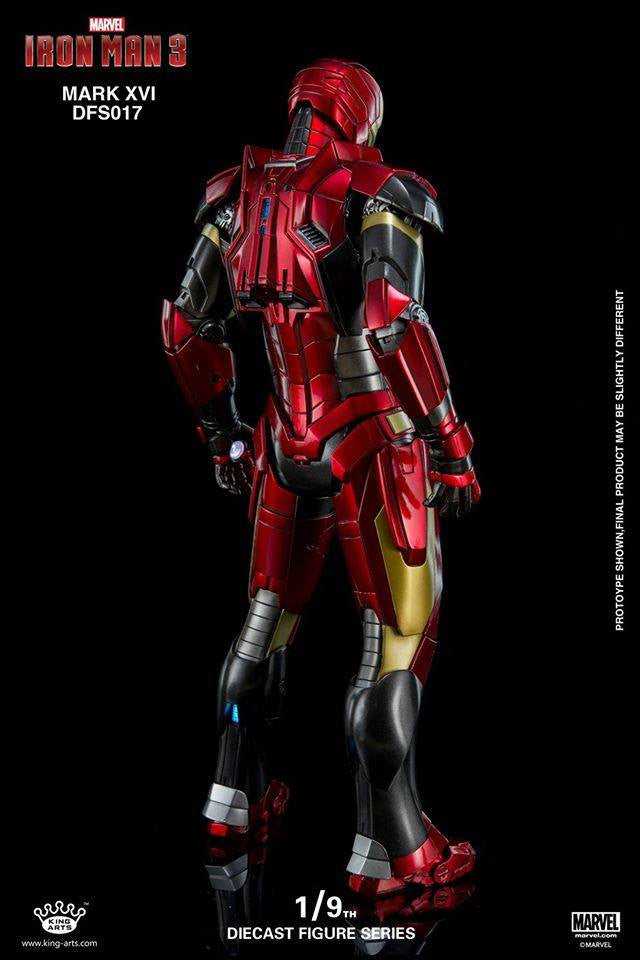 King Arts - DFS017 - Iron Man 3 - 1/9th Scale Iron Man Mark XVI (16) - Marvelous Toys - 6