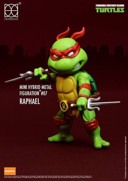 (IN STOCK) Herocross - Mini Hybrid Metal Figuration - Teenage Mutant Ninja Turtles (Set of 4) - Marvelous Toys - 3
