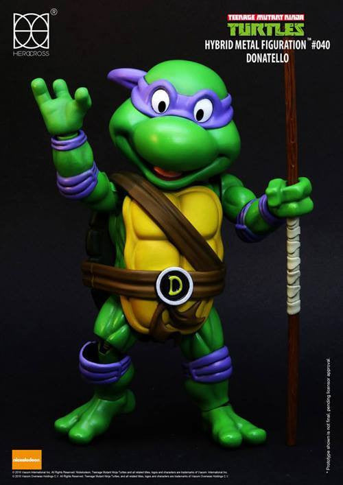 Herocross - Hybrid Metal Figuration - Teenage Mutant Ninja Turtles - Donatello - Marvelous Toys - 3