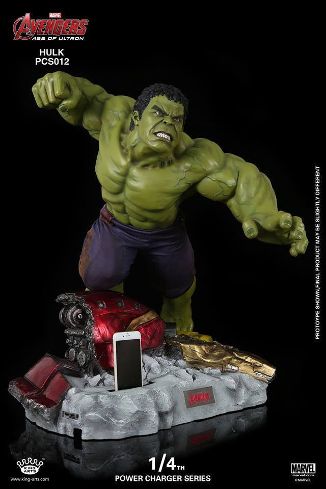 King Arts - Power Charger Series PCS012 - Avengers: Age of Ultron - 1/4th Scale Hulk Charger - Marvelous Toys - 1