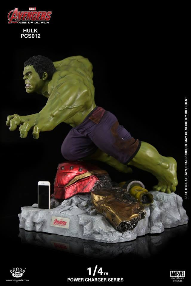 King Arts - Power Charger Series PCS012 - Avengers: Age of Ultron - 1/4th Scale Hulk Charger - Marvelous Toys - 2