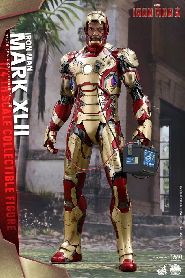 Hot Toys - QS007 - Iron Man 3 - 1/4th scale Mark XLII - Marvelous Toys - 1