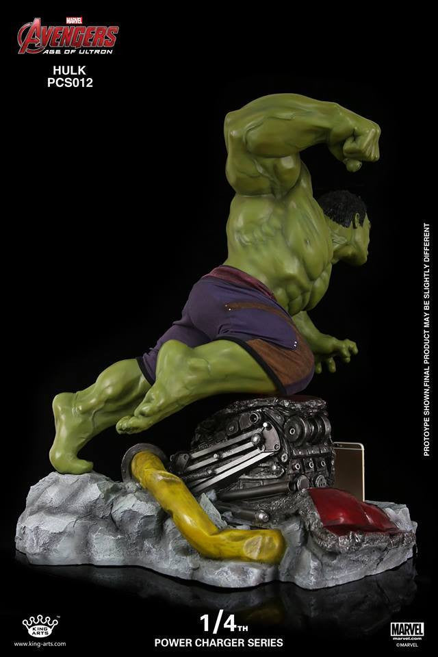 King Arts - Power Charger Series PCS012 - Avengers: Age of Ultron - 1/4th Scale Hulk Charger - Marvelous Toys - 7