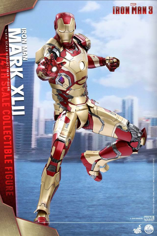 Hot Toys - QS007 - Iron Man 3 - 1/4th scale Mark XLII - Marvelous Toys - 3