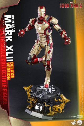 Hot Toys - QS008 - Iron Man 3 - 1/4th scale Mark XLII (Deluxe Version) - Marvelous Toys - 1