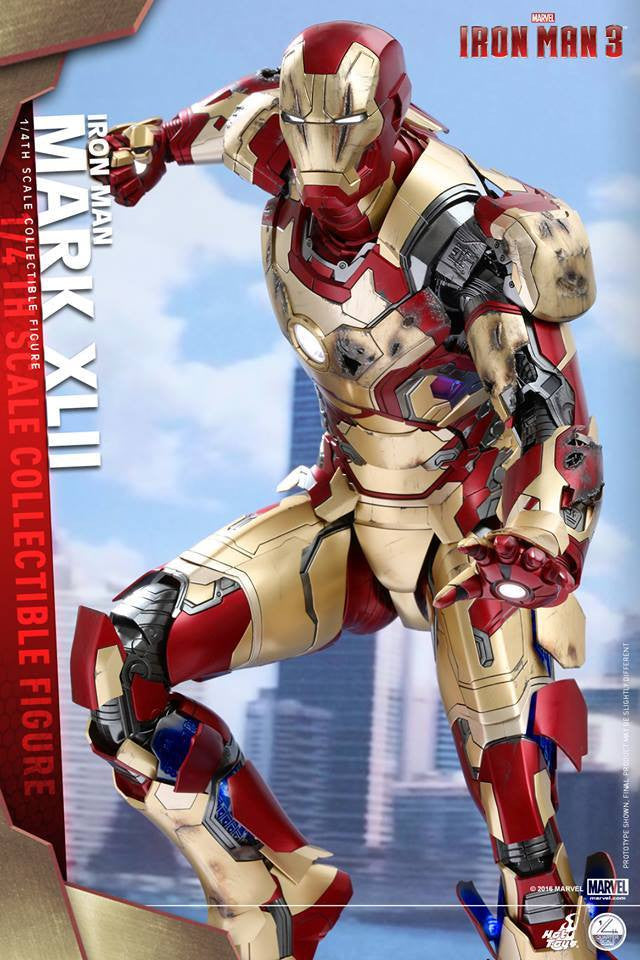 Hot Toys - QS007 - Iron Man 3 - 1/4th scale Mark XLII - Marvelous Toys - 4