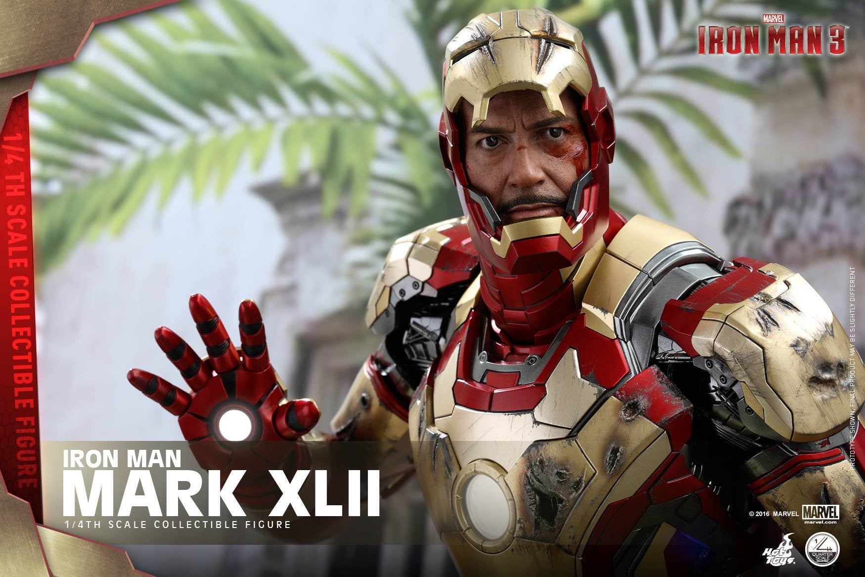 Hot Toys - QS007 - Iron Man 3 - 1/4th scale Mark XLII - Marvelous Toys - 6