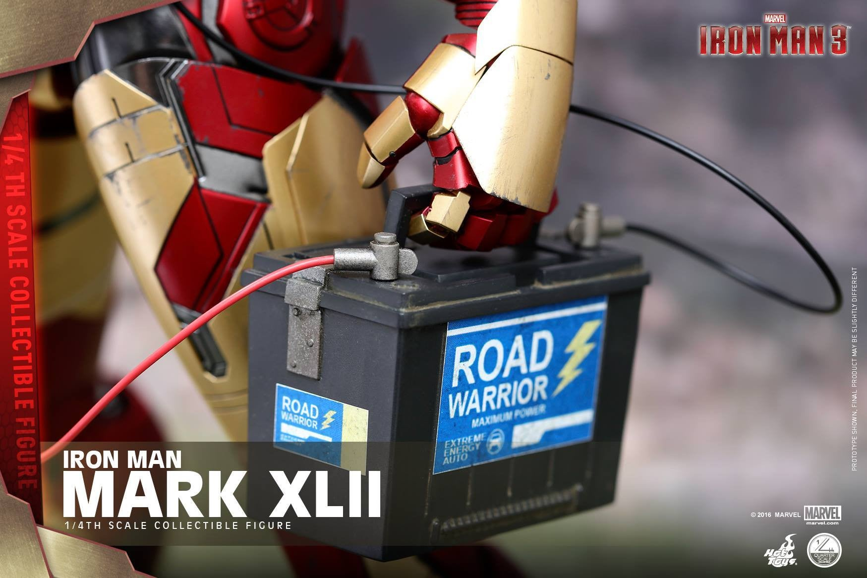 Hot Toys - QS007 - Iron Man 3 - 1/4th scale Mark XLII - Marvelous Toys - 7