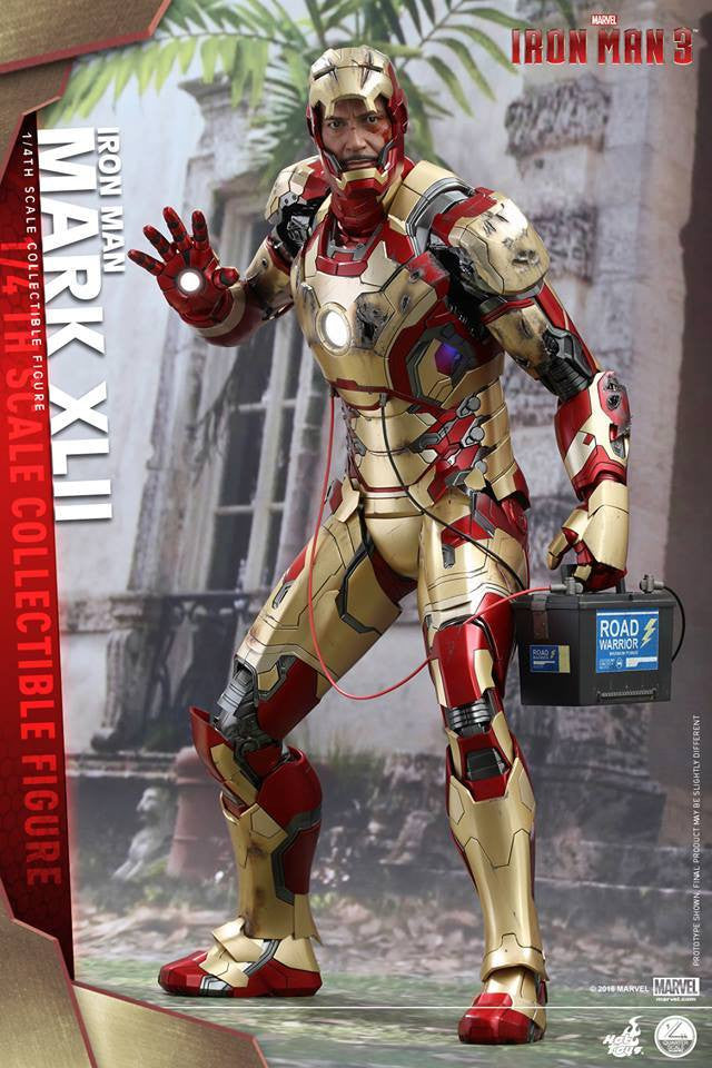 Hot Toys - QS007 - Iron Man 3 - 1/4th scale Mark XLII - Marvelous Toys - 8