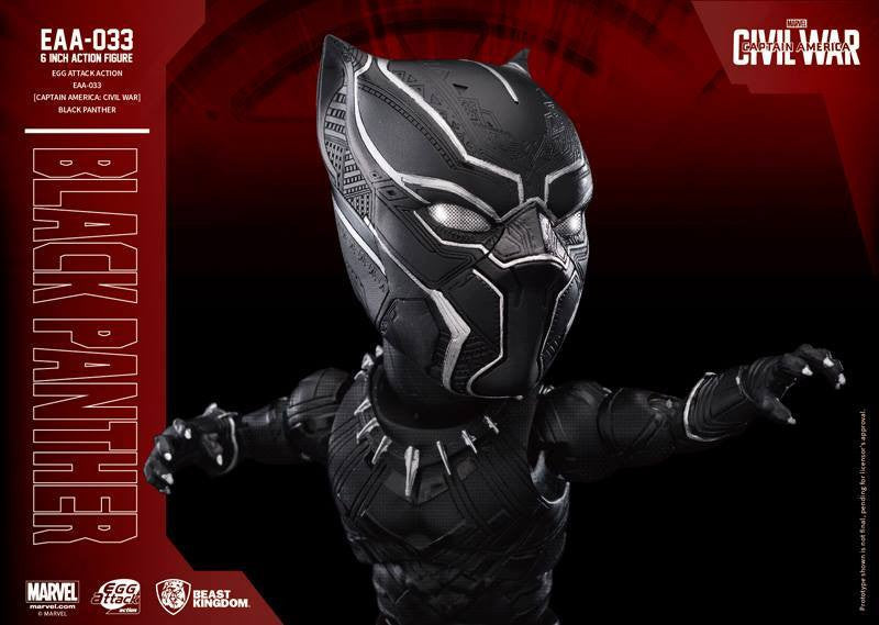 Beast Kingdom - Egg Attack Action EAA-033 - Captain America: Civil War - Black Panther - Marvelous Toys - 3