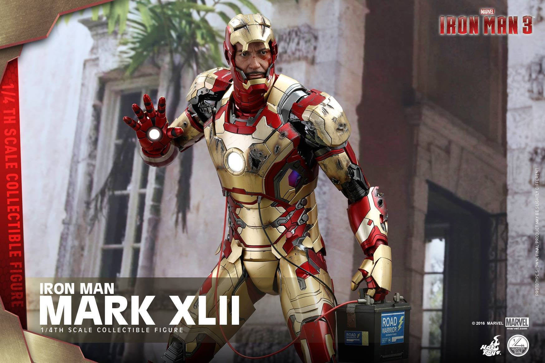 Hot Toys - QS007 - Iron Man 3 - 1/4th scale Mark XLII - Marvelous Toys - 9