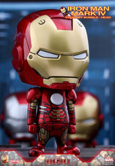 (IN STOCK) Hot Toys – COSB264 – Iron Man 3 - Iron Man Mark IV Cosbaby Bobble-Head - Marvelous Toys - 1