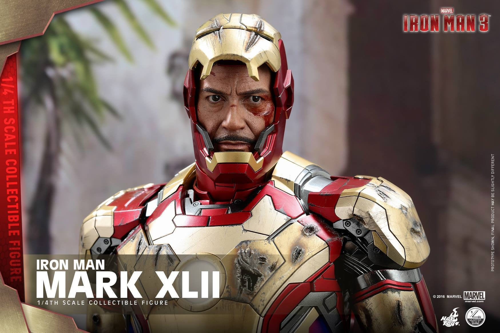 Hot Toys - QS007 - Iron Man 3 - 1/4th scale Mark XLII - Marvelous Toys - 10