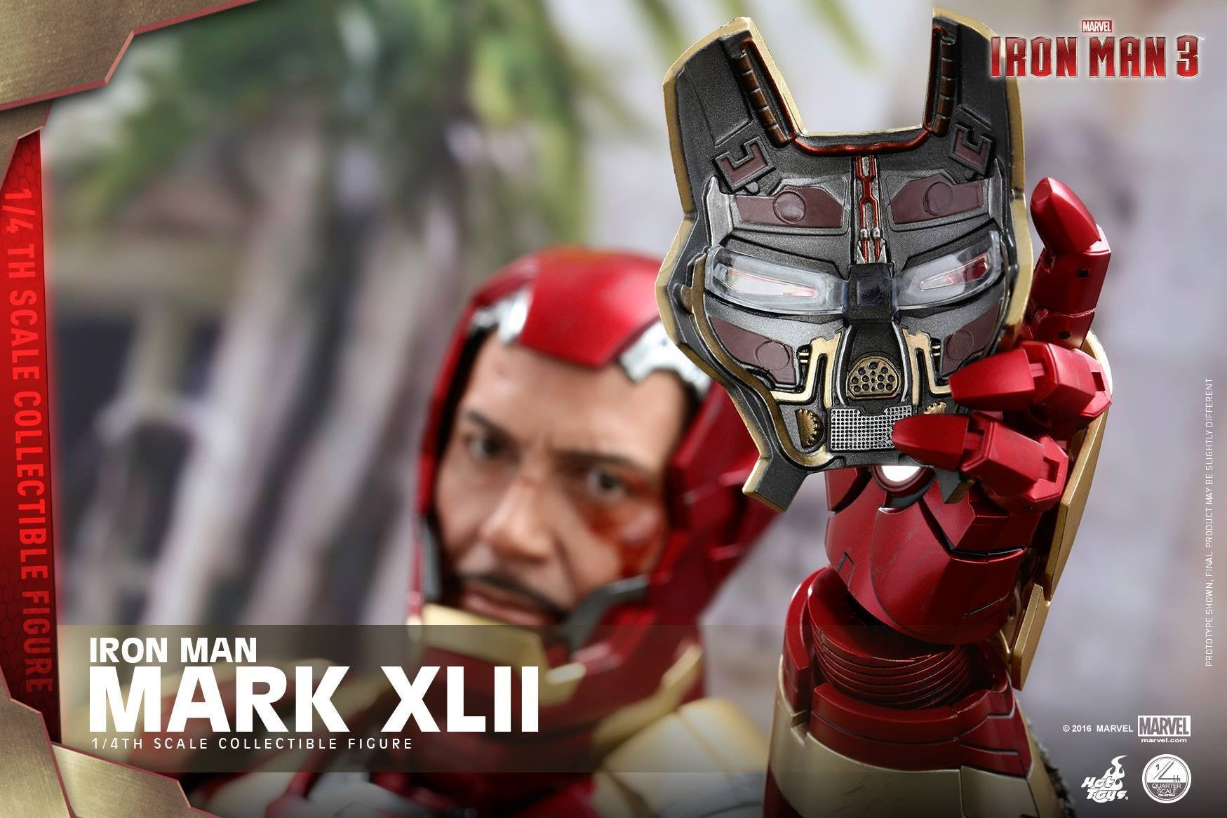 Hot Toys - QS007 - Iron Man 3 - 1/4th scale Mark XLII - Marvelous Toys - 11