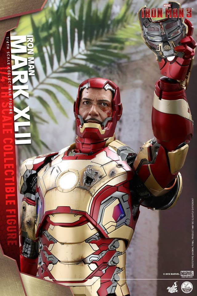 Hot Toys - QS007 - Iron Man 3 - 1/4th scale Mark XLII - Marvelous Toys - 12