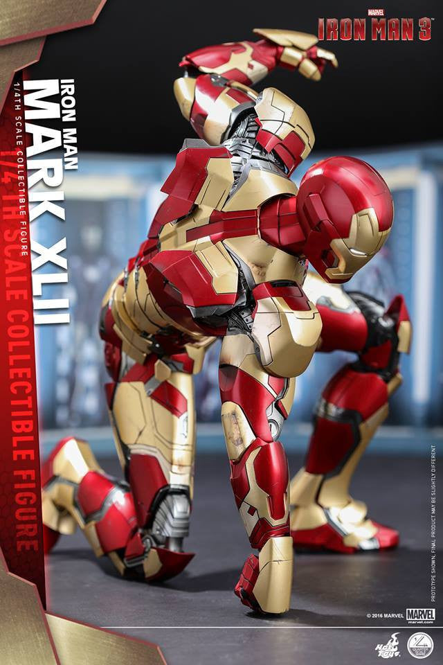 Hot Toys - QS007 - Iron Man 3 - 1/4th scale Mark XLII - Marvelous Toys - 13