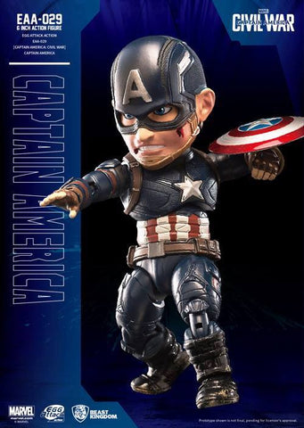 Beast Kingdom - Egg Attack Action EAA-029 - Captain America: Civil War - Captain America - Marvelous Toys - 2
