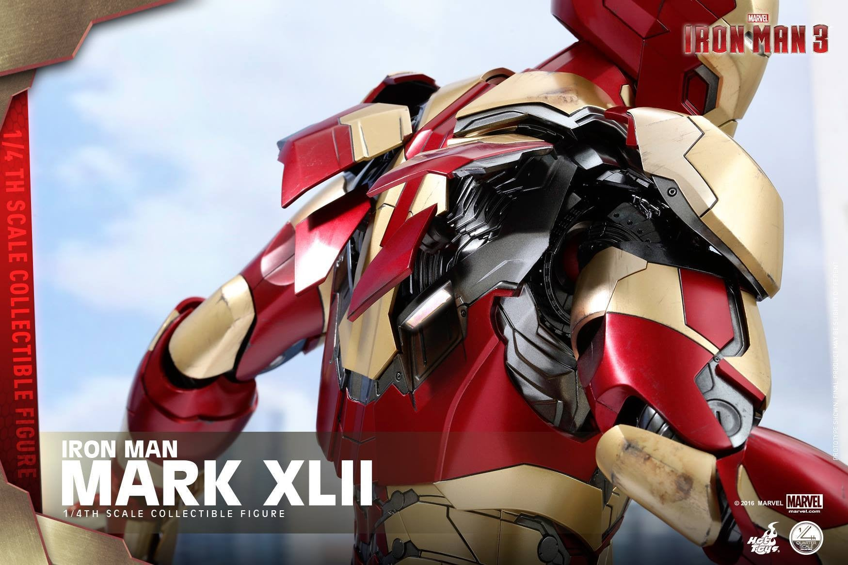 Hot Toys - QS007 - Iron Man 3 - 1/4th scale Mark XLII - Marvelous Toys - 14